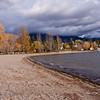 Lake Windermere in the Kootenay River Valley in the British Columia Rockies in Canada.