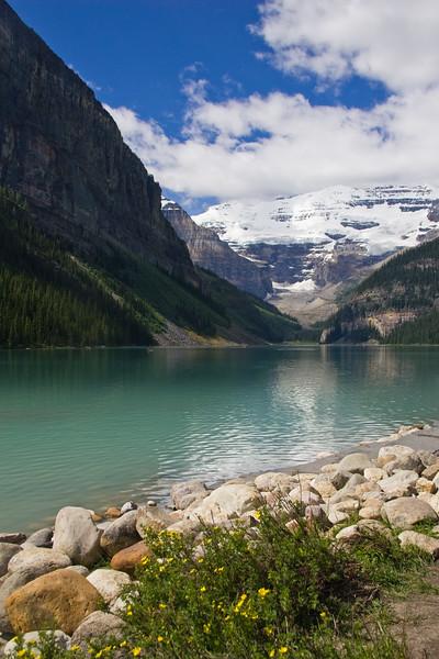 Lake Louise in Banff National Park in Alberta, Canada.