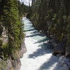 Rapids and waterfall on Numa Creek, in Kootenay National Park, British Columbia, Canada.