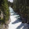 Rapids and waterfall on Numa Creek, in Kootenay National Park, British Columbia, Canada.