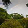 Rainbow at Sarapiqui Rainforest Lodge (or Centro Neotropico Sarapiqui - Neotropical Nature Center), in Sarapiqui, Costa Rica.