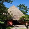 Sarapiqui Neotropic Center indigenous design cabins in Sarapiqui, Costa Rica.