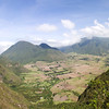 Panorama of Valley in Ecuador