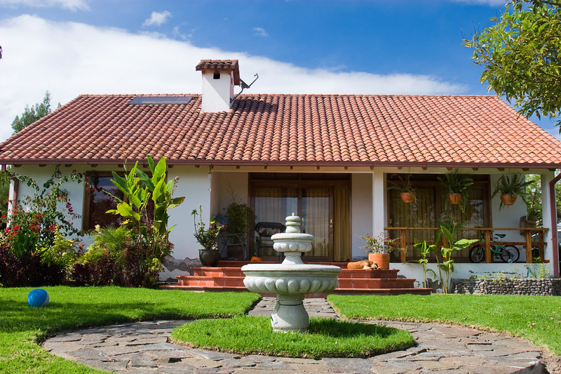 One of the Bustamante family homes in Ecuador