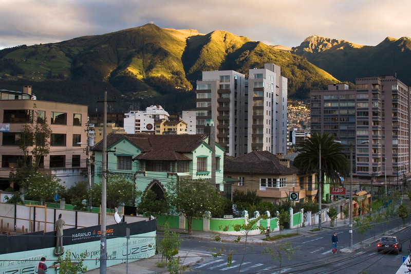 Quito Ecuador, downtown and skyline scenes