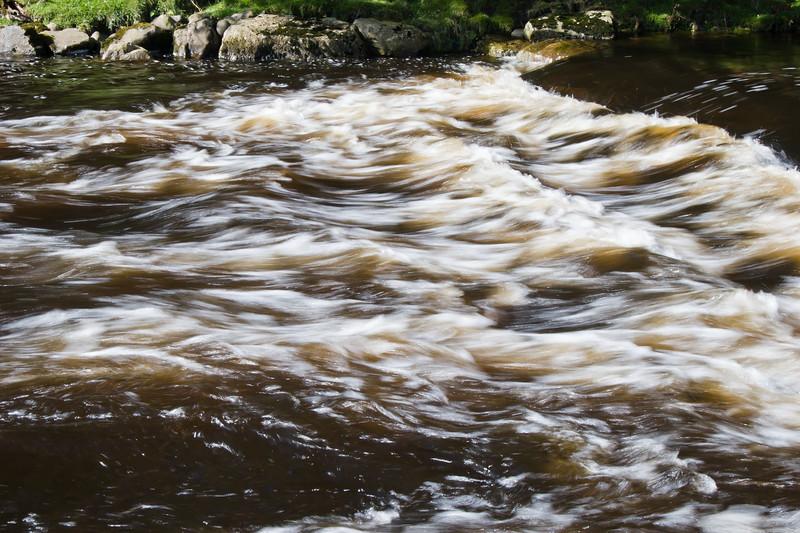 Erriff River at Sheffrey Woods in Ireland