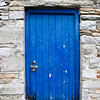 Door in Village of Westport in County Mayo, Ireland.