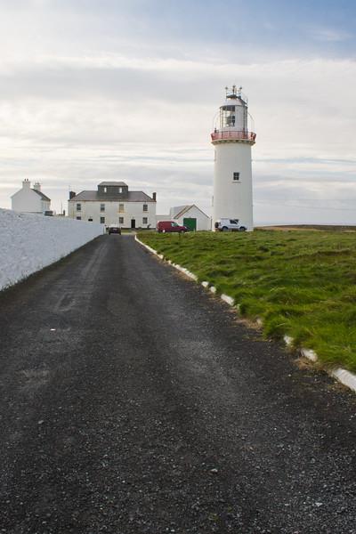 Loophead Lighthouse, Atlantic Coast, Loophead Peninsula, County Clare, Ireland