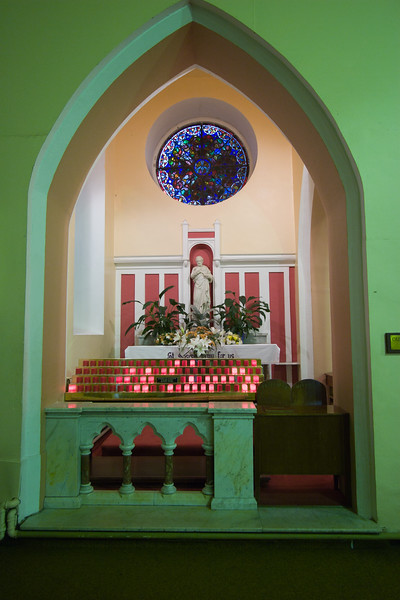 Ireland - Church at Knock, site of vision of Virgin of Knock - Pilgrimage site