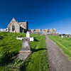 Burrishoole Abbey in County Mayo, Ireland