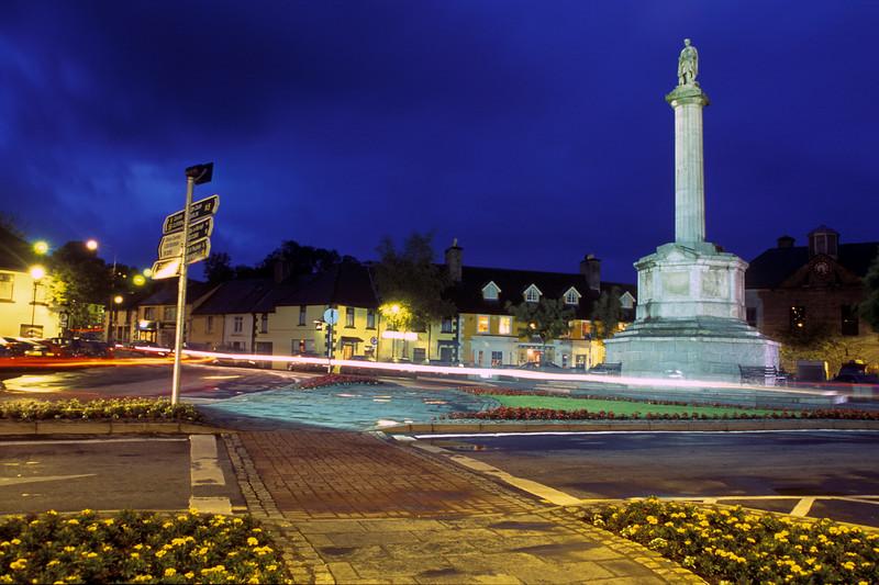Night Scene in Westport, Ireland.