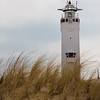 Lighthouse at Noordwijk aan Zee in South Holland, The Netherlands. This lighthouse was built in 1922.