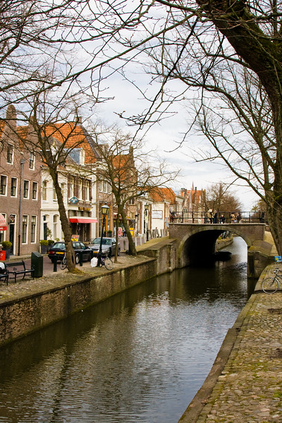 The village of Edam in North Holland, The Netherlands, is famous for its cheese (Edam cheese), which is exported all over the world.