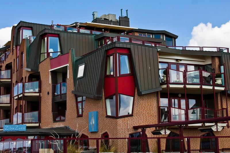 Egmond aan Zee seaside resort and fishing village in North Holland. The Netherlands.