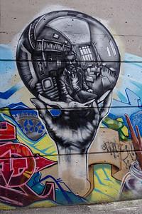 Mural in Gastown