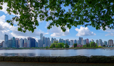 Vancouver Skyline from Stanley Park