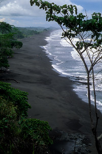 Playa Hermosa Black Sand Beach