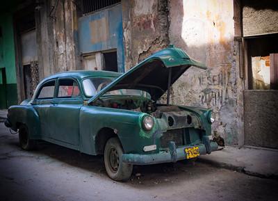 Rusting Classic Car