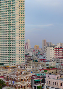 View of Downtown Havana, Cuba