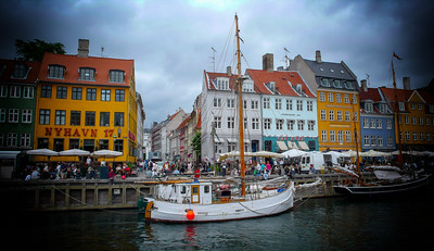 Nyhavn Waterfront Canal