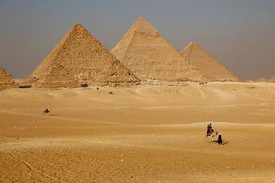 Pyramids, Giza Plateau