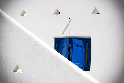 White Wall, Blue Door