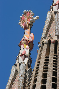 Gaudi's Sagrada Familia Church, Barcelona, Spain