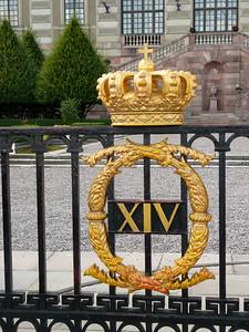 Stockholm Palace Gates