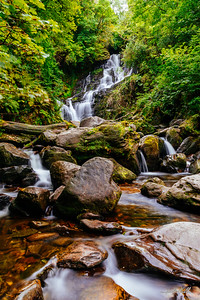 Idyllic Torc Waterfall