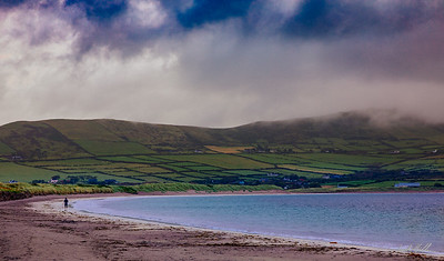 Early morning walk on the shore in Ventry