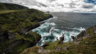 Ring of Kerry Coastline & The Skelligs, Ireland - 2013