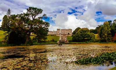 Ponds at Powerscourt Estate Gardens