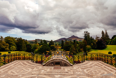 Sugarloaf Mountain and Powerscourt Estate Gardens