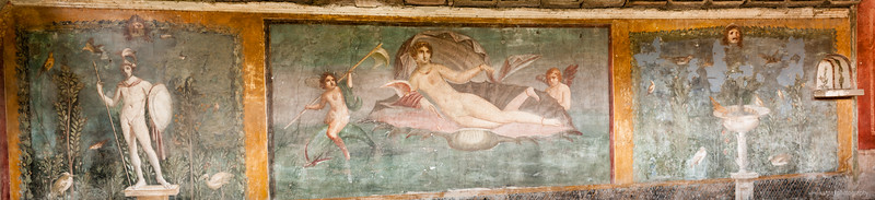 Pompeii - Via dell'Abbondanza (6pics 10405x2379px)