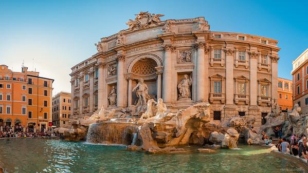 Fontana di Trevi (9pics 5256x2774px)