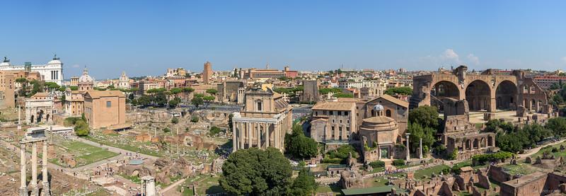 Forum Romanum (9pics 13307x4613px)
