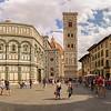 Campanile di Giotto und Battistero di San Giovanni