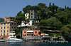 Waterfront homes in Portofino, Italy, known as a playland for the rich and famous.