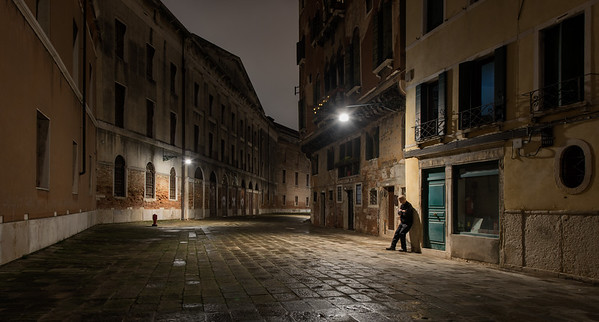 Rainy Venice Night - 2015