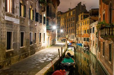 Venice Canal, Italy - 2015