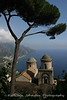 The view from Ravello along the Amalfi Coast.