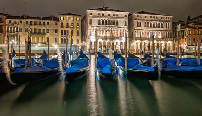 Gondolas, Venice, Italy - 2015