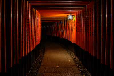 Fushimi Inari, Kyoto, Japan - 2018