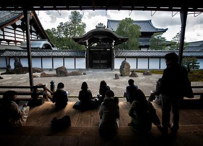 Stone Garden, Tofukuji, Kyoto, Japan - 2014
