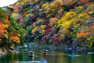 Arashiyama, Kyoto, Japan - 2018