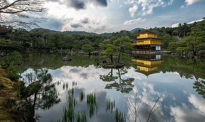 Kinkakuji, Kyoto, Japan - 2014