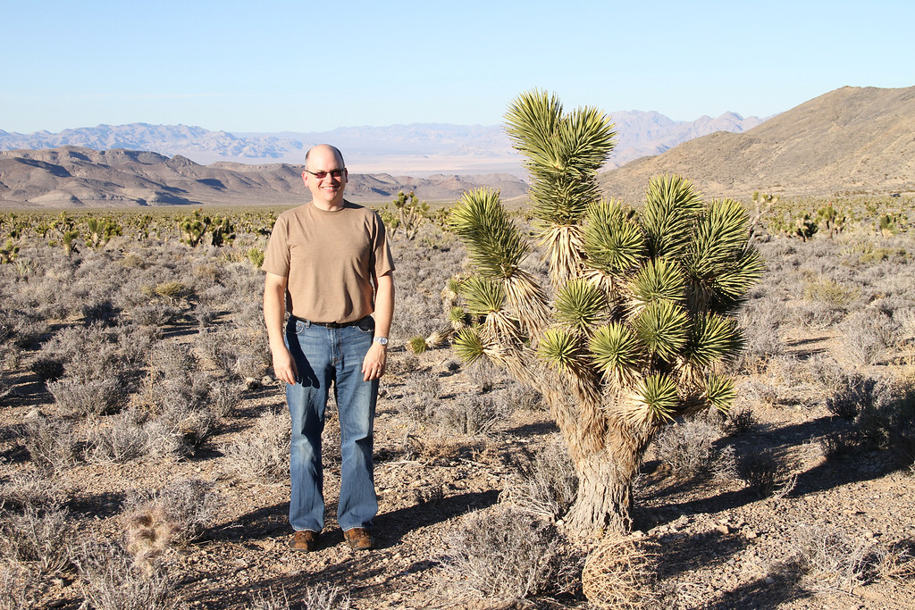 A boy and his Joshua tree - can you say awkward?