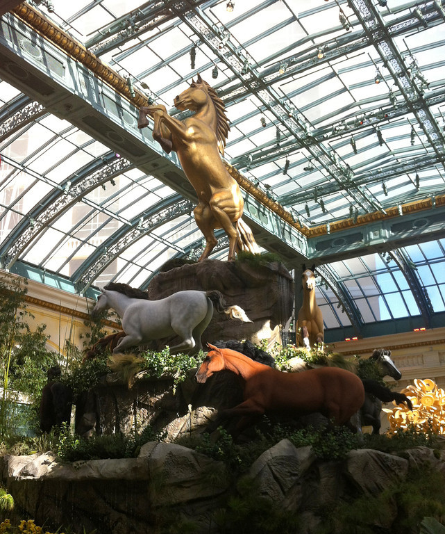 Year of the Horse at the Bellagio