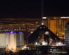 Luxor, Excalibur, and Mandalay Bay