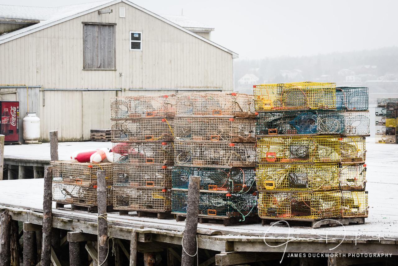 Lobster Traps, Southwest Harbor, Maine